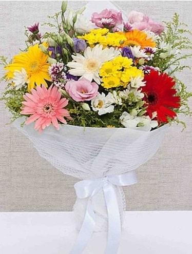 Karışık Mevsim Buketleri  Tekirdağ çiçekçi mağazası