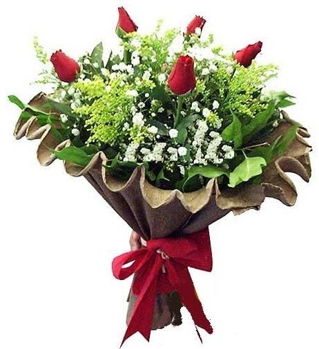 5 adet gülden buket  Tekirdağ çiçek gönderme