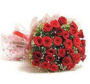 27 Adet kırmızı gül buketi  Tekirdağ çiçekçi mağazası