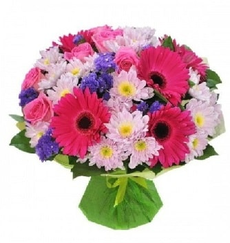 Karışık mevsim buketi mevsimsel buket  Tekirdağ ucuz çiçek gönder