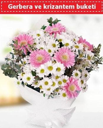 Papatya ve Gerbera Buketi  Tekirdağ hediye çiçek yolla