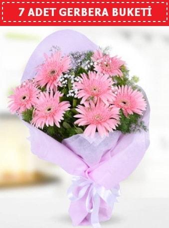 Pembe Gerbera Buketi  Tekirdağ hediye çiçek yolla