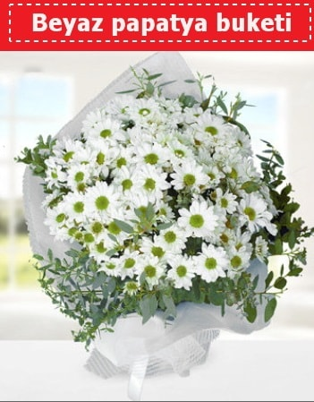 Beyaz Papatya Buketi  Tekirdağ hediye sevgilime hediye çiçek