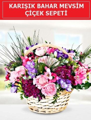 Karışık mevsim bahar çiçekleri  Tekirdağ çiçekçi mağazası