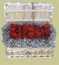 Tekirdağ 14 şubat sevgililer günü çiçek  Sandikta 11 adet güller - sevdiklerinize en ideal seçim